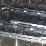 Montage des Sensors unter der Schiene